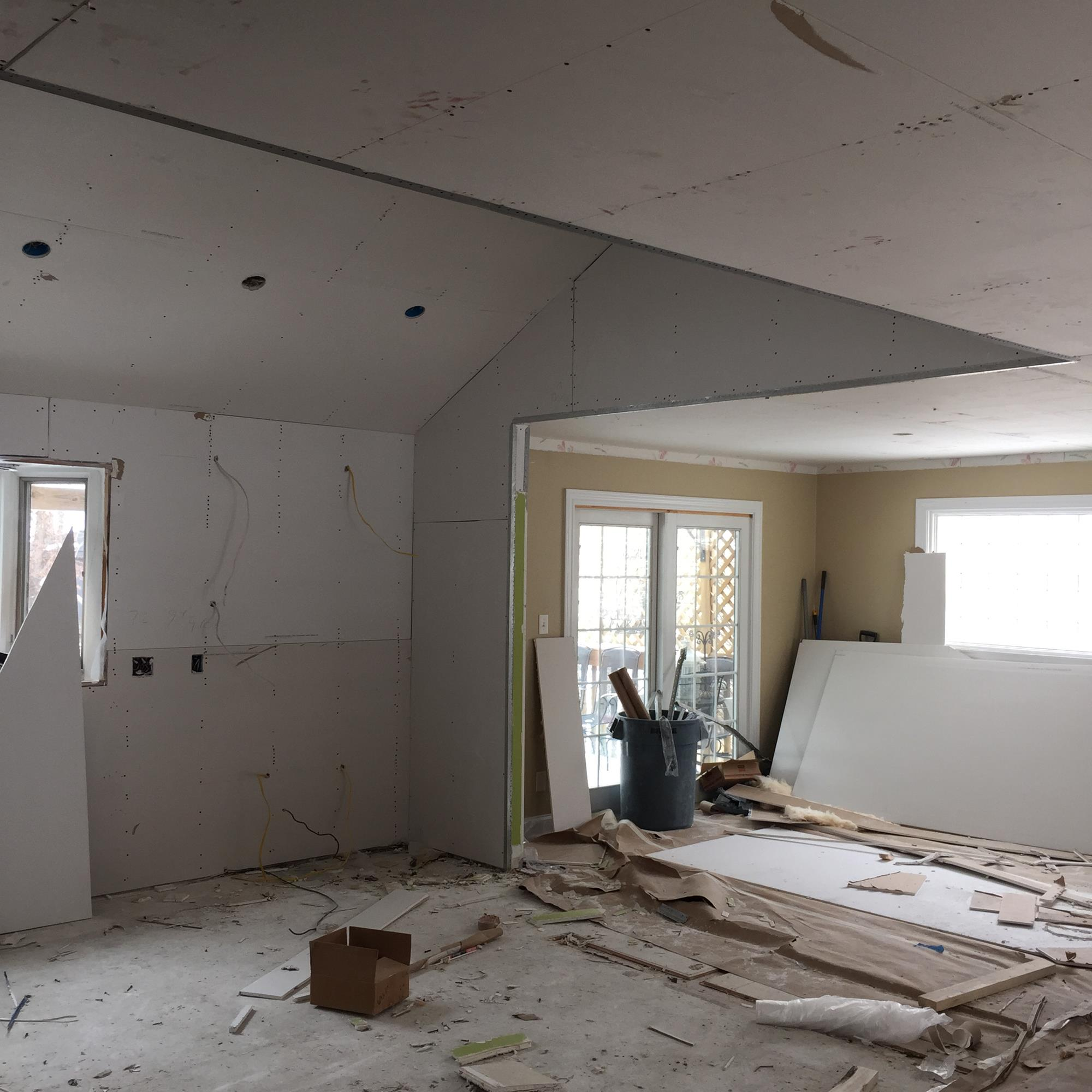 remodel project